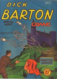 Dick Barton Special Agent Comic (Ayers & James, 1952 series) #5 — Haunted Heights