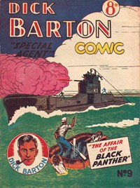Dick Barton Special Agent Comic (Ayers & James, 1952 series) #9 ([1953?])