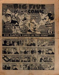 The Big Five Yank Comic (Ayers & James, 194-? series)  — Untitled