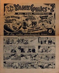 The Big Value Yank Comics (Ayers & James, 194-? series) #2 — All Your Favourites