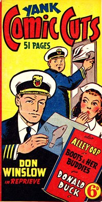 Yank Comic Cuts (Ayers & James, 1945?)  ([1945?])