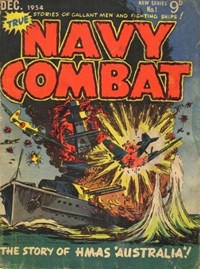 True Navy Combat (Jubilee, 1954 series) #1