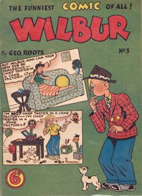 Wilbur (Ayers & James, 1949? series) #3 ([1951?])