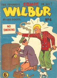 Wilbur (Ayers & James, 1949? series) #4 ([1950??])