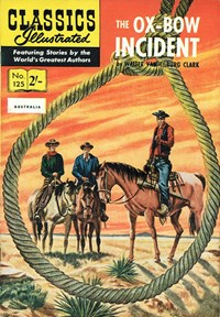 Classics Illustrated (Strato, 1954 series) #125 [HRN 125] (1961)