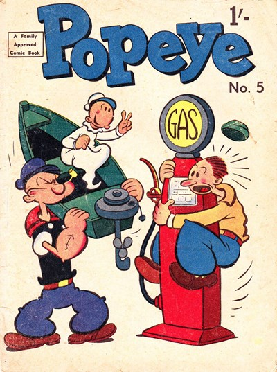 Popeye (Associated Newspapers, 1958 series) #5 (October 1958)