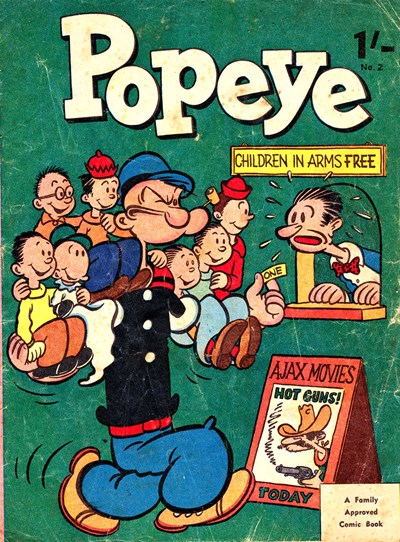 Popeye (Associated Newspapers, 1958 series) #2 (1958)