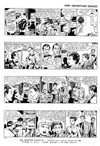 New Adventure Comics (Rosnock, 1960? series) #1 — The Television Bandit (page 1)