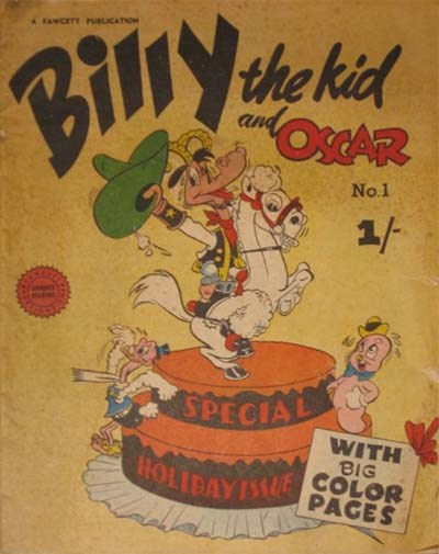 Billy the Kid and Oscar (Cleland, 1953? series) #1 ([1953?])