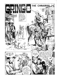 Strange Tales of the Wild West (Gredown/Boraig, 1980?)  — The Chinaman (page 1)