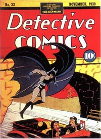 Detective Comics (DC, 1937 series) #33 (November 1939)