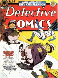 Detective Comics (DC, 1937 series) #74 (April 1943)