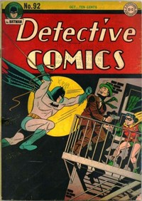 Detective Comics (DC, 1937 series) #92 (October 1944)
