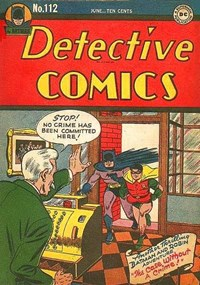 Detective Comics (DC, 1937 series) #112 (June 1946)