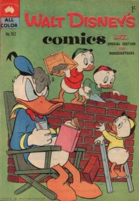 Walt Disney's Comics (WG Publications, 1946 series) v14#3 (162) — Untitled (Cover)