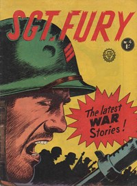 Sgt. Fury (Horwitz, 1963 series) #4 — Untitled (Cover)