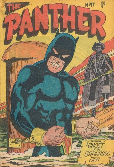 The Panther (Youngs, 1957 series) #17 ([September 1958?])
