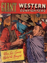 Giant Western Gunfighters (Horwitz, 1961? series) #3