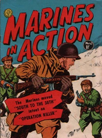 Marines in Action (Horwitz, 1954 series) #47 ([May 1960?])
