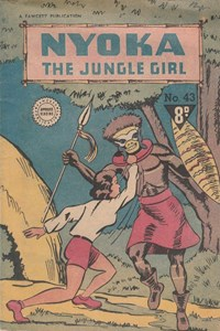 Nyoka the Jungle Girl (Cleland, 1949 series) #43
