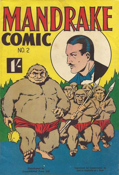 Mandrake Comic (Consolidated, 1953 series) #2 ([April 1953?])