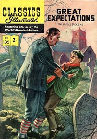 Classics Illustrated (Strato, 1954 series) #135 [HRN 129] (1961)