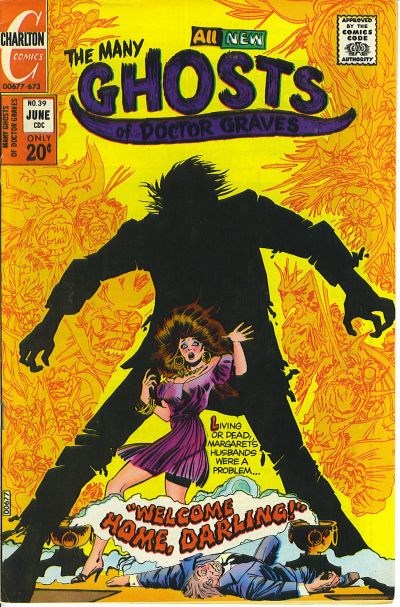The Many Ghosts of Dr. Graves (Charlton, 1967 series) #39 (June 1973)