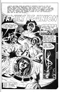 Monster Hunters (Murray, 1978 series) #5 — Family Re-Union (page 1)