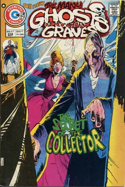 The Many Ghosts of Dr. Graves (Charlton, 1967 series) #47 (September 1974)