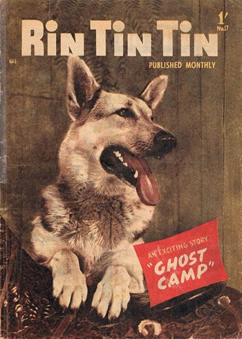 Rin Tin Tin (Junior Readers, 1958 series) #17 (March 1959)