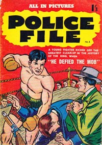 Police File (Regal, 1959? series) #6 — He Defied the Mob