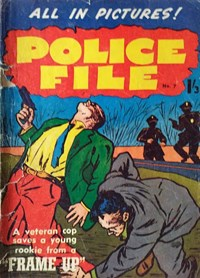 Police File (Regal, 1959? series) #7