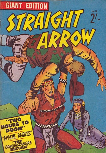 Straight Arrow Giant Edition (Jubilee, 1960? series) #12 ([1960?])