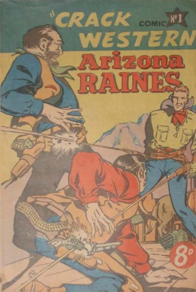 Crack Western Comic (Pyramid, 1952 series) #1 ([195-??])