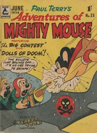 Adventures of Mighty Mouse (Rosnock, 1952 series) #23
