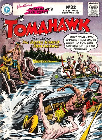 The Brave Named Tomahawk!
