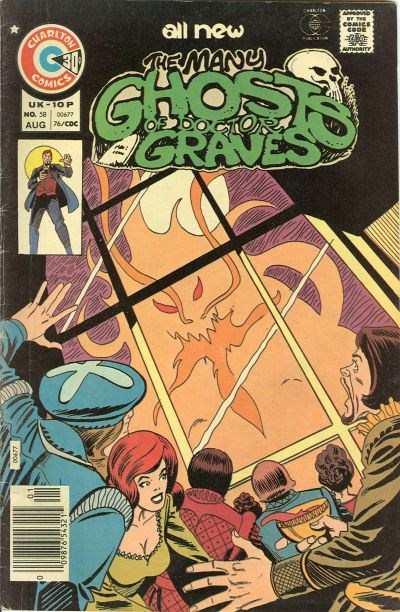 The Many Ghosts of Dr. Graves (Charlton, 1967 series) #58 (August 1976)