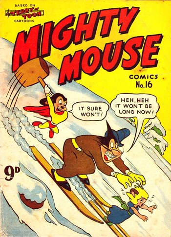 Mighty Mouse Comics (Rosnock, 1952? series) #16 ([1953?])