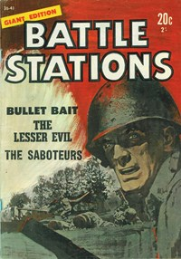 Battle Stations Giant Edition (Jubilee, 1966) #36-41