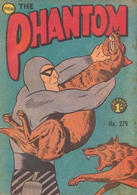 The Phantom (Frew, 1948 series) #279 — Untitled (Cover)