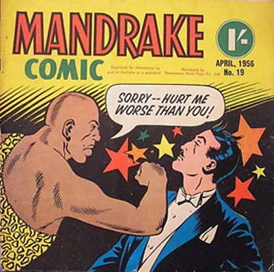 Mandrake Comic (Shakespeare Head, 1955 series) #19 (April 1956)