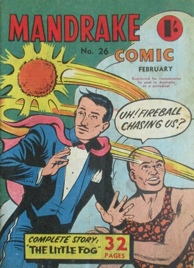 Mandrake Comic (Shakespeare Head, 1955 series) #26 (February 1958)