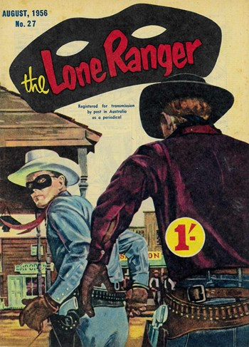 The Lone Ranger (Shakespeare Head, 1954 series) #27 (August 1956)