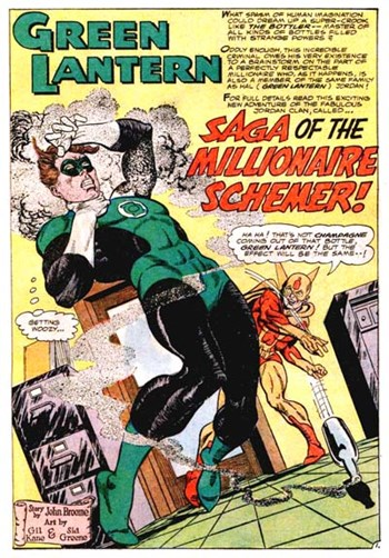 Green Lantern (DC, 1960 series) #44 — Saga of the Millionaire Schemer! (page 1)