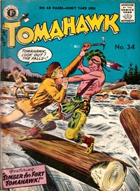 Tomahawk (Strato, 1954 series) #34 — Timber for Fort Tomahawk!