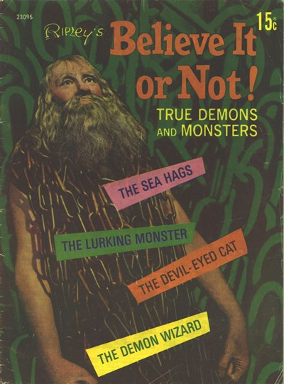 Ripley's Believe It or Not! True Demons and Monsters (Magman, 1972) #22095 (1972)
