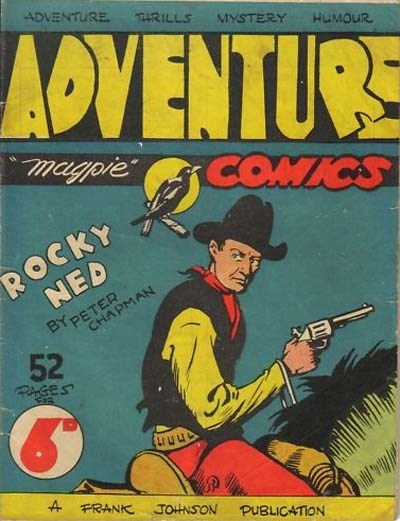 Adventure Comics (Frank Johnson, 1946?)  ([1946?])