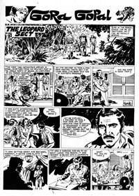 Super Giant (KG Murray, 1974 series) #20 — The Leopard Sect (page 1)