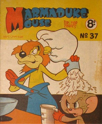 Marmaduke Mouse (Southdown Press, 1949? series) #37 ([1952?]) —Adventures of Marmaduke Mouse