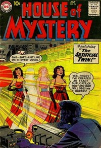 House of Mystery (DC, 1951 series) #76 — The Artificial Twin!